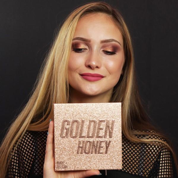 Makeup Obsession Golden Honey szemhéjfesték paletta