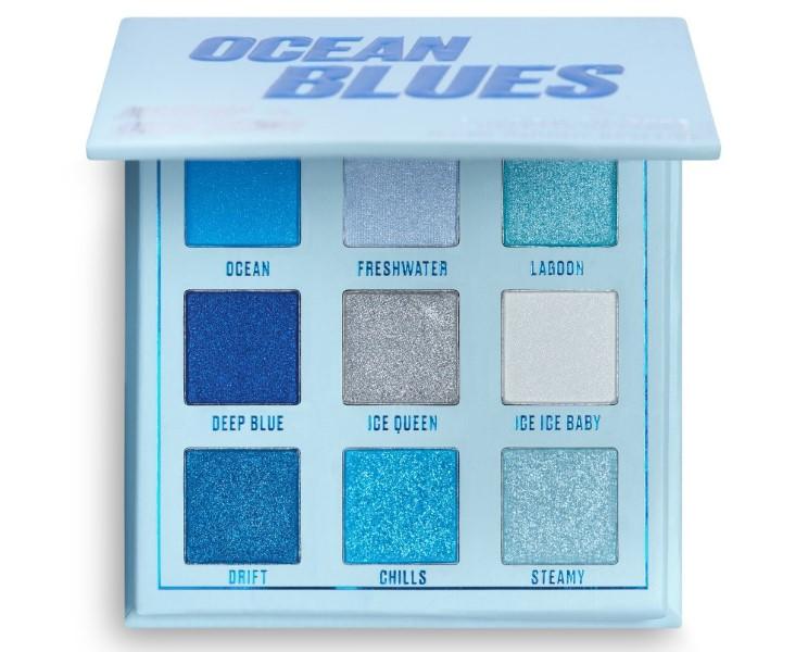 Makeup Obsession Ocean Blues szemhéjfesték paletta